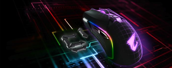 aorus m5 gamer mouse