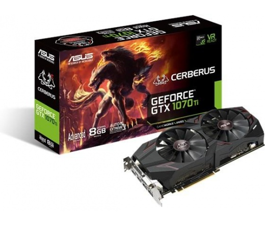 Asus CERBERUS-GTX1070TI-8G 8GB DDR5