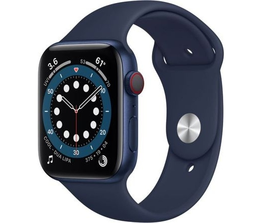 Apple Watch Series 6 LTE 44mm alumínium kék