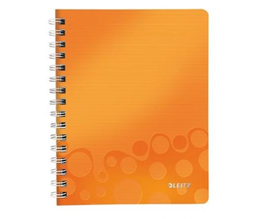 """Leitz """"Wow"""", narancssárga spirálfüzet, A5"""