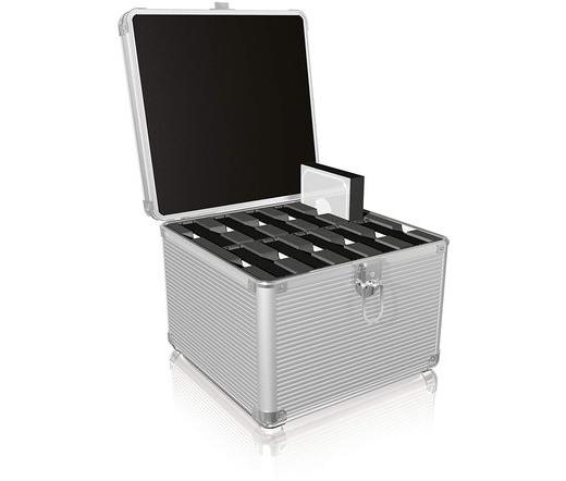 Raidsonic Icy Box IB-AC628 HDD alumíniumbőrönd