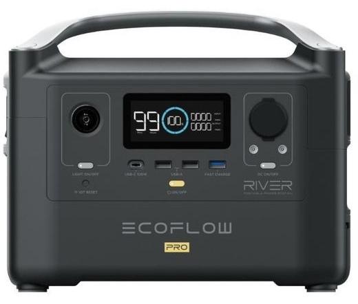 EcoFlow River Pro hordozható erőmű