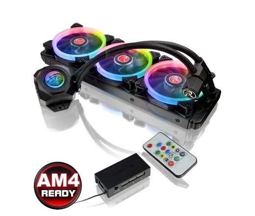 RAIJINTEK Orcus 360 Core RGB vízhűtés 36cm