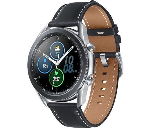 Samsung Galaxy Watch3 45mm misztikus ezüst
