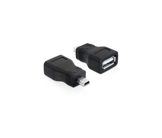 Delock Adapter USB 2.0-A female -> mini USB male (