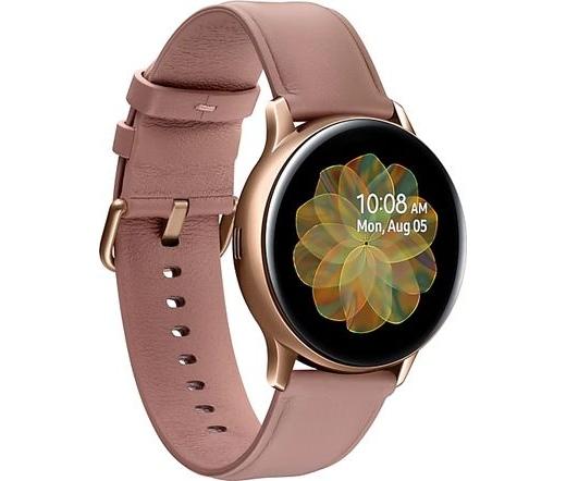 Samsung Galaxy Watch Active 2 eSIM 40mm acél arany