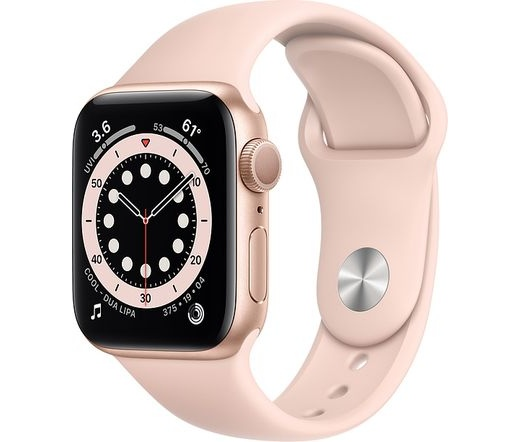 Apple Watch Series 6 44mm alumínium arany