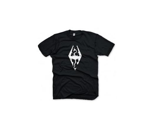 "Skyrim T-Shirt ""Dragon Symbol"", M"
