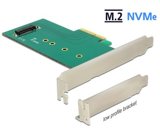 Delock PCIE x4>1xbelső NVMe M.2