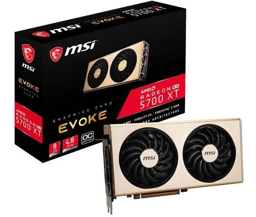 Bontott MSI Radeon RX 5700 XT Evoke OC videokártya