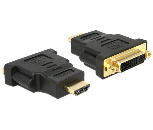 Delock HDMI apa > DVI 24+5 pin anya adapter