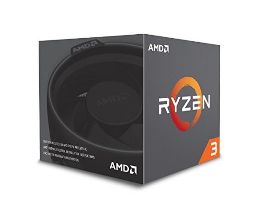 AMD Ryzen 3 1200 Dobozos Hűtővel