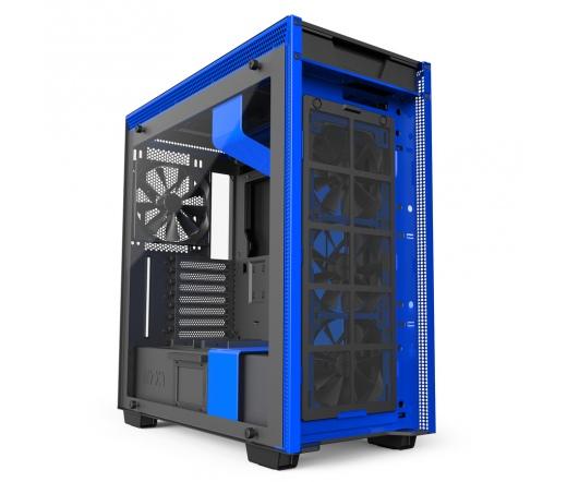 NZXT H700i Matt fekete-kék