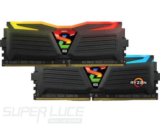 GeIL Super Luce RGB Lite AMD Ed. Kit2 32GB fekete