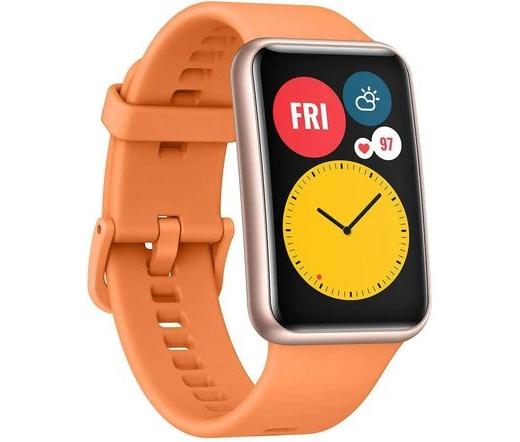 Huawei Watch Fit narancs