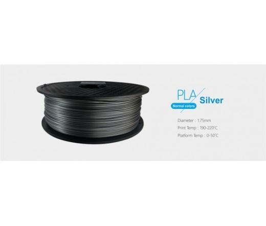 3D Printer filament 1,75mm PLA Ezüst /1kg-os teke