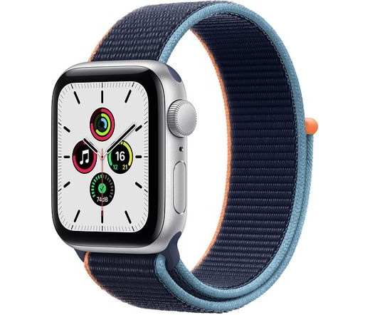 Apple Watch SE LTE 44mm ezüst