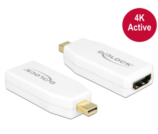 Delock Adapter mini Displayport 1.2-dugós csatlako