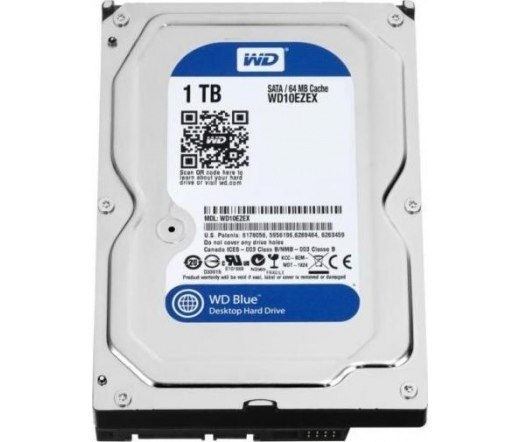 Recertified WD Blue 1TB 7200rpm 64MB SATA-III HDD