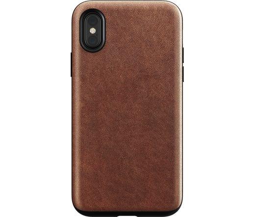 Nomad Rugged Case iPhone X/XS-hez rusztikus barna