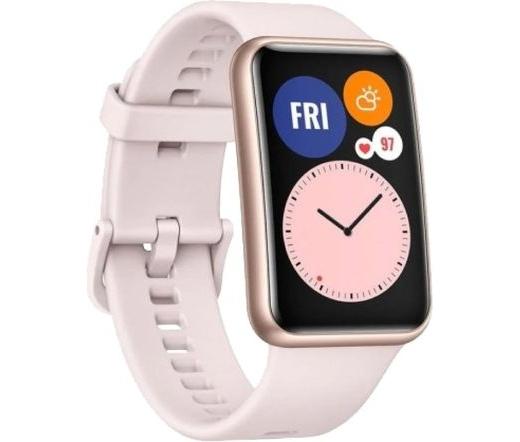 Huawei Watch Fit szakura-rózsaszín