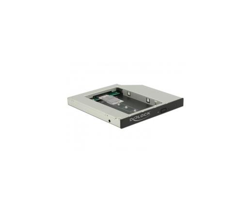 """Delock 5.25""""-os SATA 1 db M.2 SSD B nyíláshoz"""
