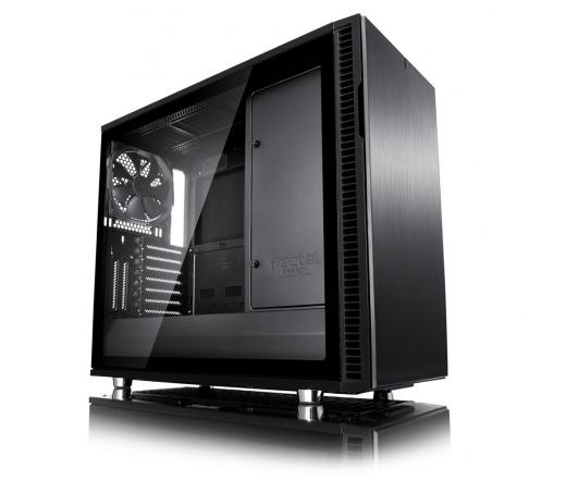 Fractal Design Define R6 Fekete Edzett üveg