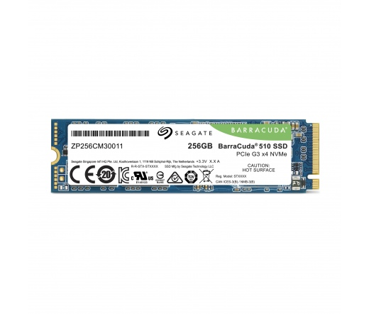 Seagate BarraCuda 510 256GB M.2 NVMe SSD