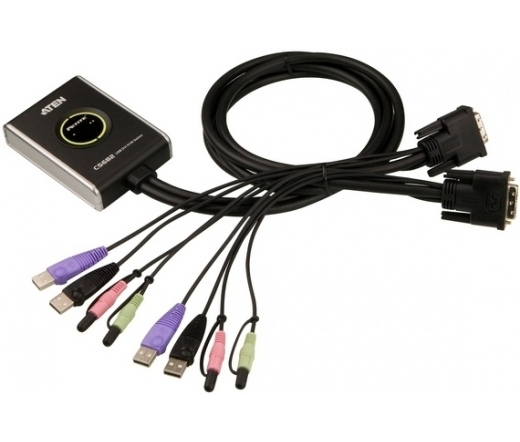 Aten CS682 2PC KVM Switch