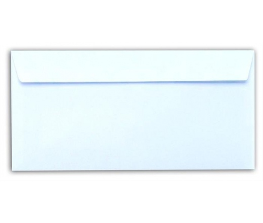 Boríték, LA4, szilikonos, jobb ablakos, EURO (100