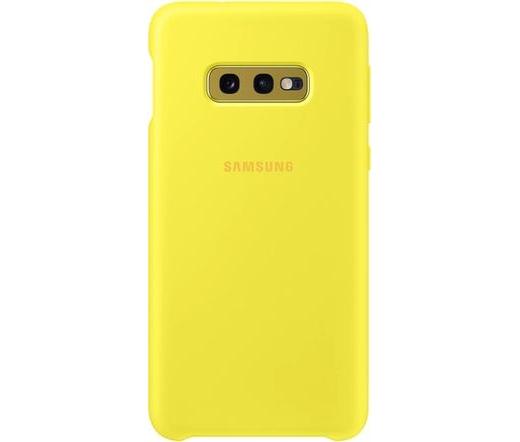 Samsung Galaxy S10e szilikontok sárga