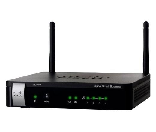 Cisco RV110W Wireless-N VPN Firewall
