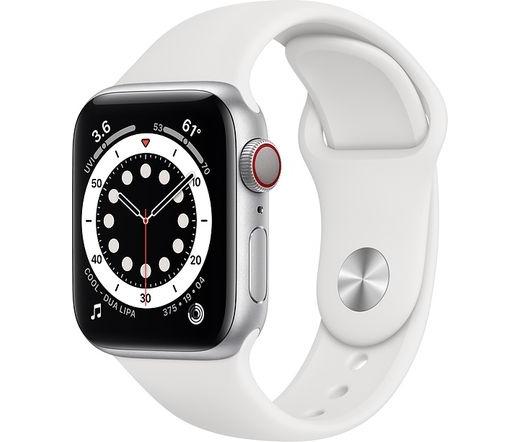 Apple Watch Series 6 LTE 40mm alumínium ezüst