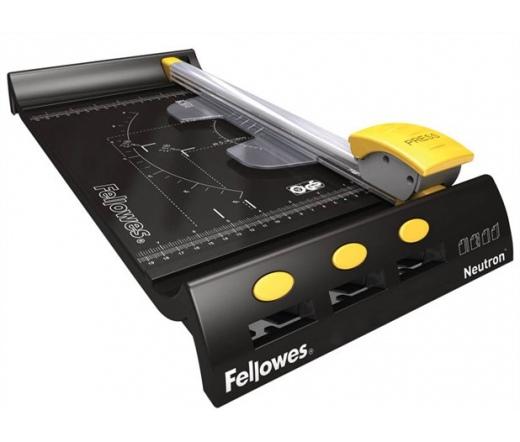 Fellowes Neutron A4 görgős vágógép, 10 lap