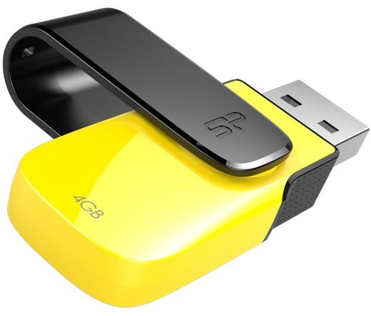 Silicon Power Ultima U31 USB2.0 4GB sárga