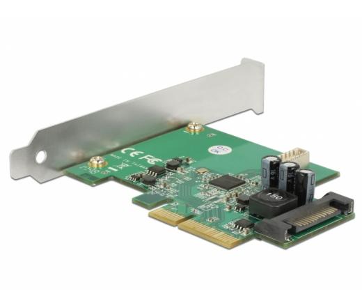 Delock PCI Express kártya > 1x belső USB 3.1 Gen