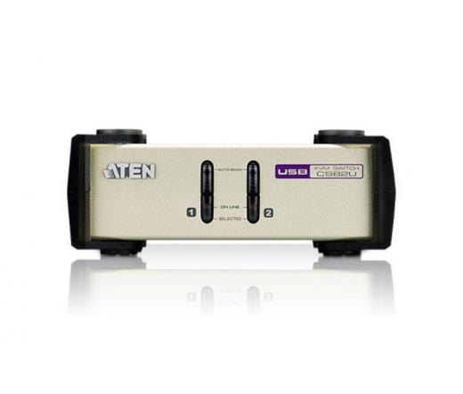 Aten CS-82U 2 PC KVM Switch