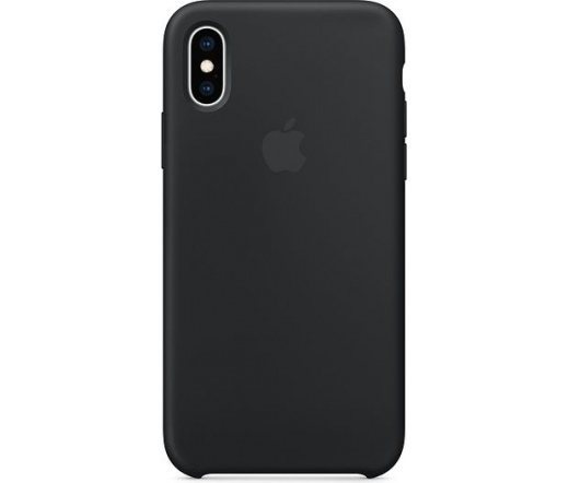 Apple iPhone XS szilikontok fekete