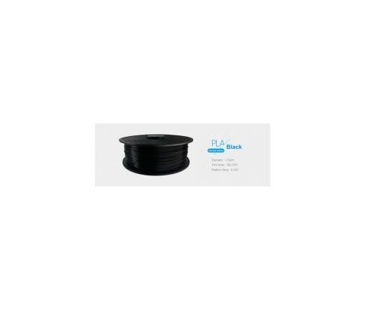 3D PRINTER FILAMENT 1,75mm PLA Fekete /1kg-os tek