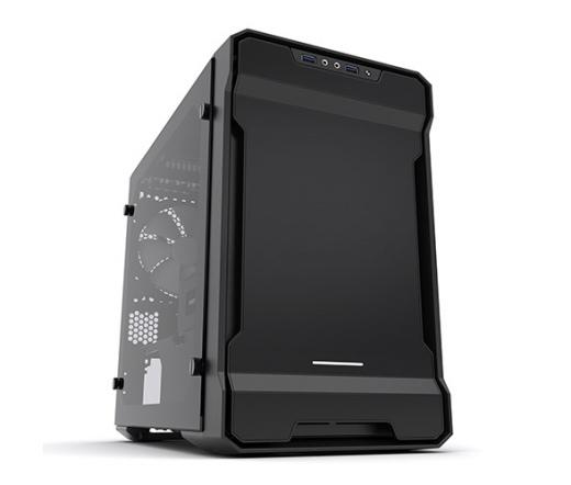 Phanteks Enthoo Evolv Mini-ITX TG RGB Led Fekete