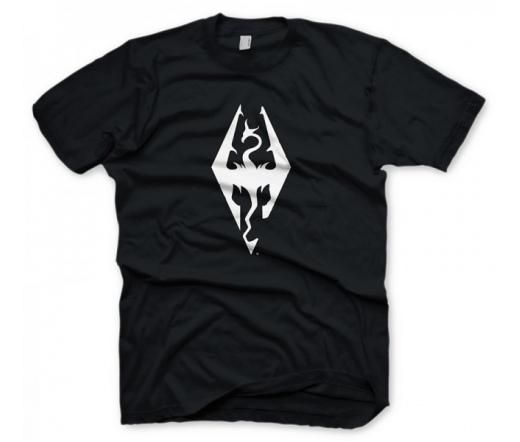 "Skyrim  ""Dragon Symbol"", S póló"