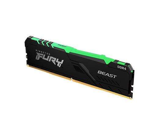 KINGSTON Fury Beast RGB DDR4 2666MHz CL16 8GB