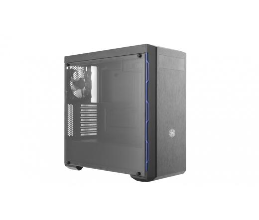 CoolerMaster MB600L fekete-kék ODD nélkül
