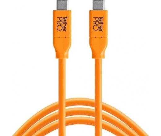 TT TetherPro USB 3.1 Type-C > Type-C 4.6m narancs