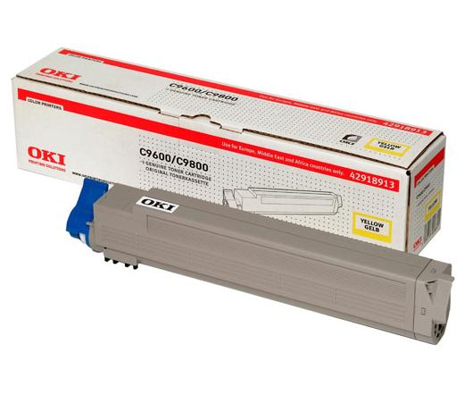 OKI C9600/C9800 DRUM Sárga