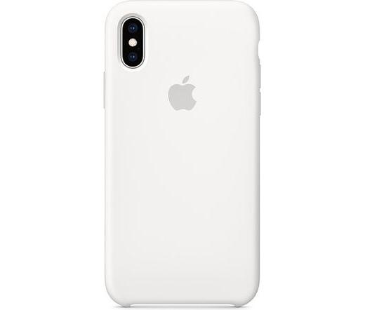 Apple iPhoneXS szilikontok fehér