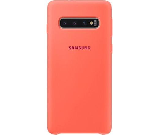Samsung Galaxy S10 szilikontok rózsaszín
