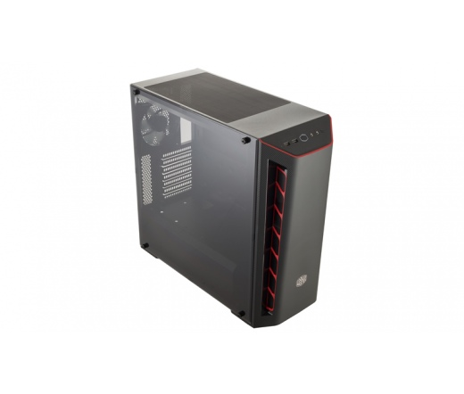 Cooler Master MasterBox MB510L fekete-piros