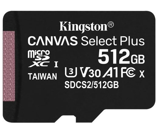 Kingston Canvas Select Plus microSDXC 512GB