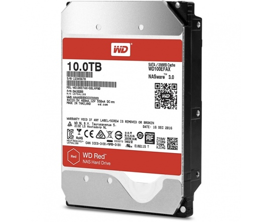 WD Red 10TB 5400rpm 256MB Cache